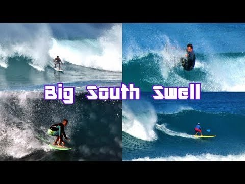 Big South Swell Ala Moana