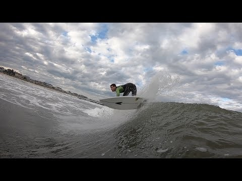Fall Surfing in Spring Lake, NJ 2019