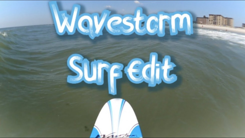 Wavestorm Surfing at Long Beach, NY: GoPro POV Edit