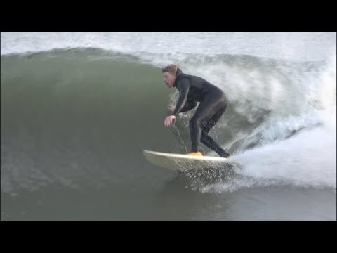 Surfing Perfect Glass Waves in NEW YORK (4K)