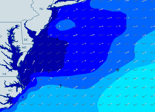 Long Beach Island New Jersey Surf Forecast And Surf Report Swellinfo